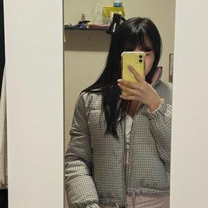 reversable puffer jacket